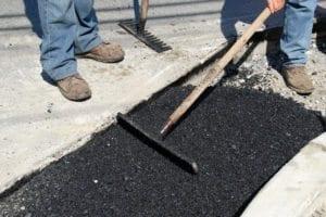 squeegee asphalt