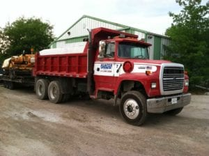 Hunter Paving And Excavating Truck